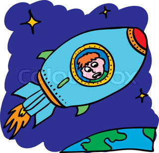 Space Travel Clip Art.