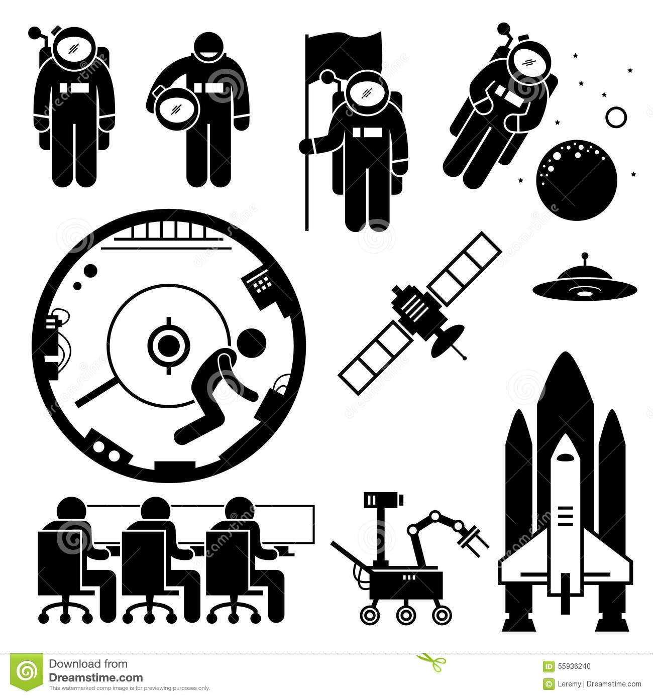 space exploration clipart - photo #44