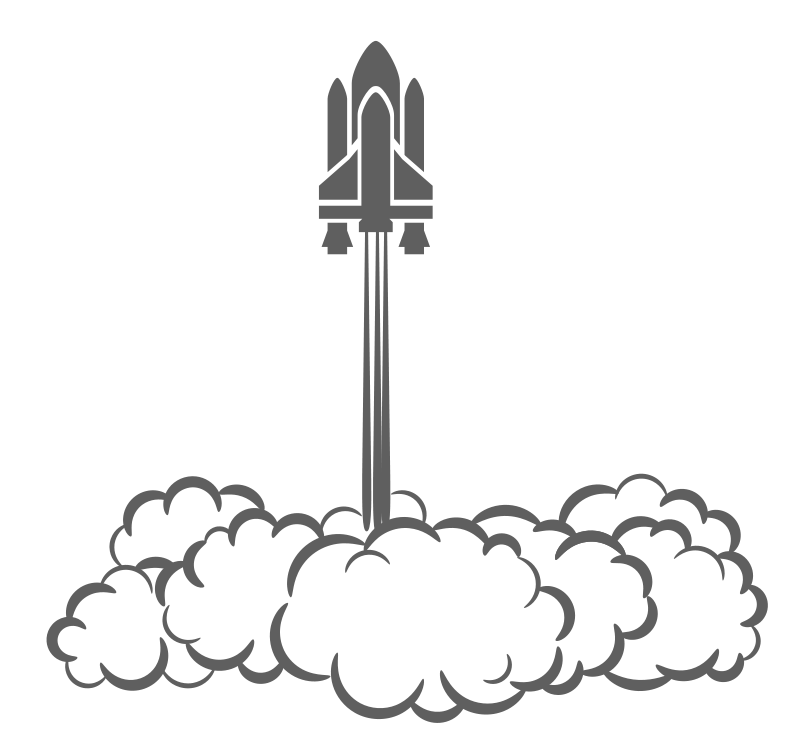 Space Shuttle Clipart.