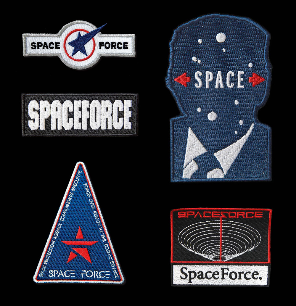 Brand New: Space Force Faux Logos.