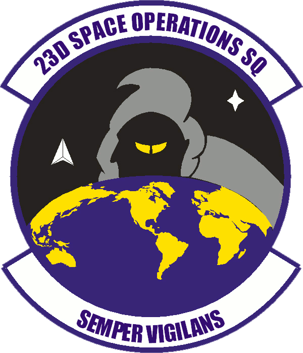 23rd Space Operations Squadron.