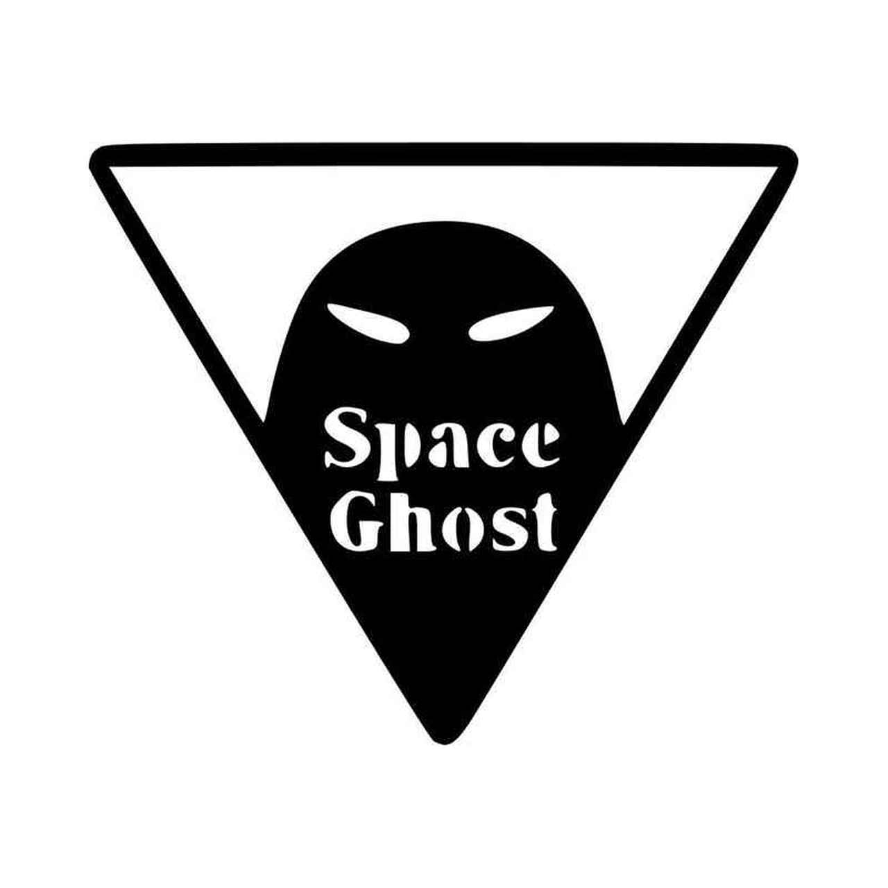 Space Ghost Vinyl Decal Sticker.