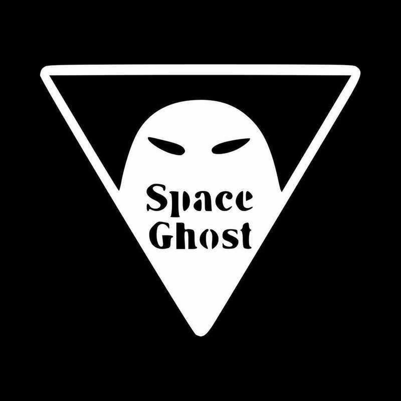 Space Ghost Vinyl Decal Sticker.