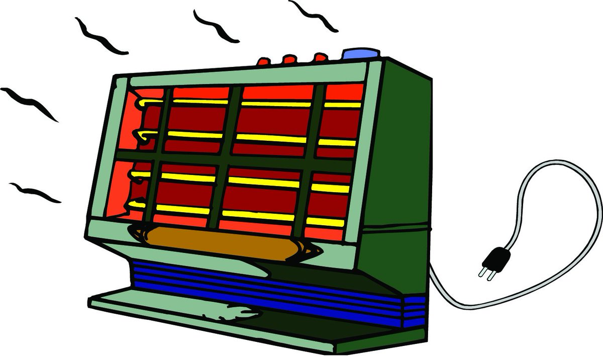 Space heater clipart Transparent pictures on F.