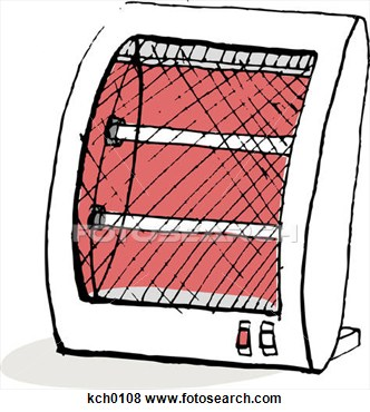 Space heater clipart 1 » Clipart Station.