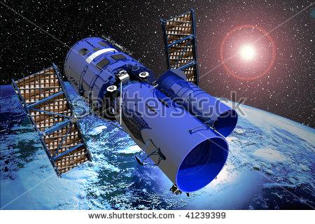 Space Telescope Stock Photos, Royalty.