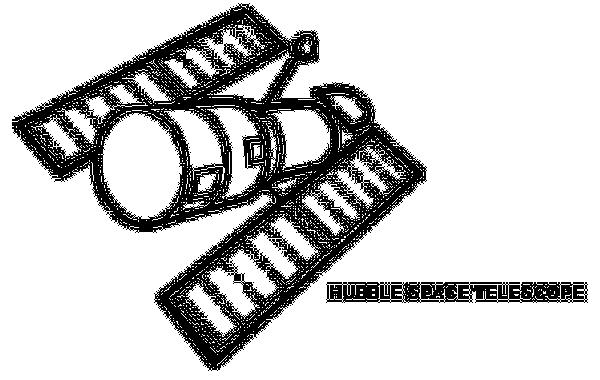 Hubble Space Telescope Clipart.