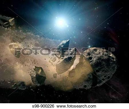 Stock Images of Spitzer Space Telescope set its infrared eyes upon.