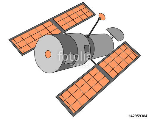 Hubble Space Telescope Clipart.