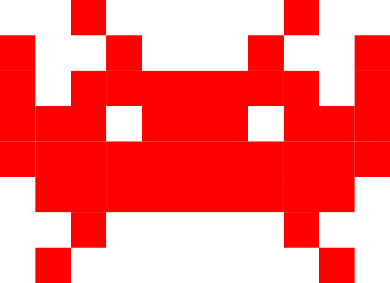 Download Space Invaders PNG Free Download.