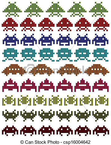Space invaders Clipart and Stock Illustrations. 3,343 Space.