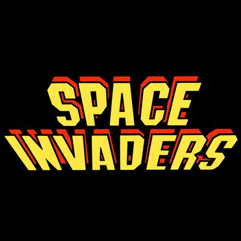 Logo Space Invaders.
