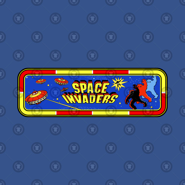 Space invaders Logo.