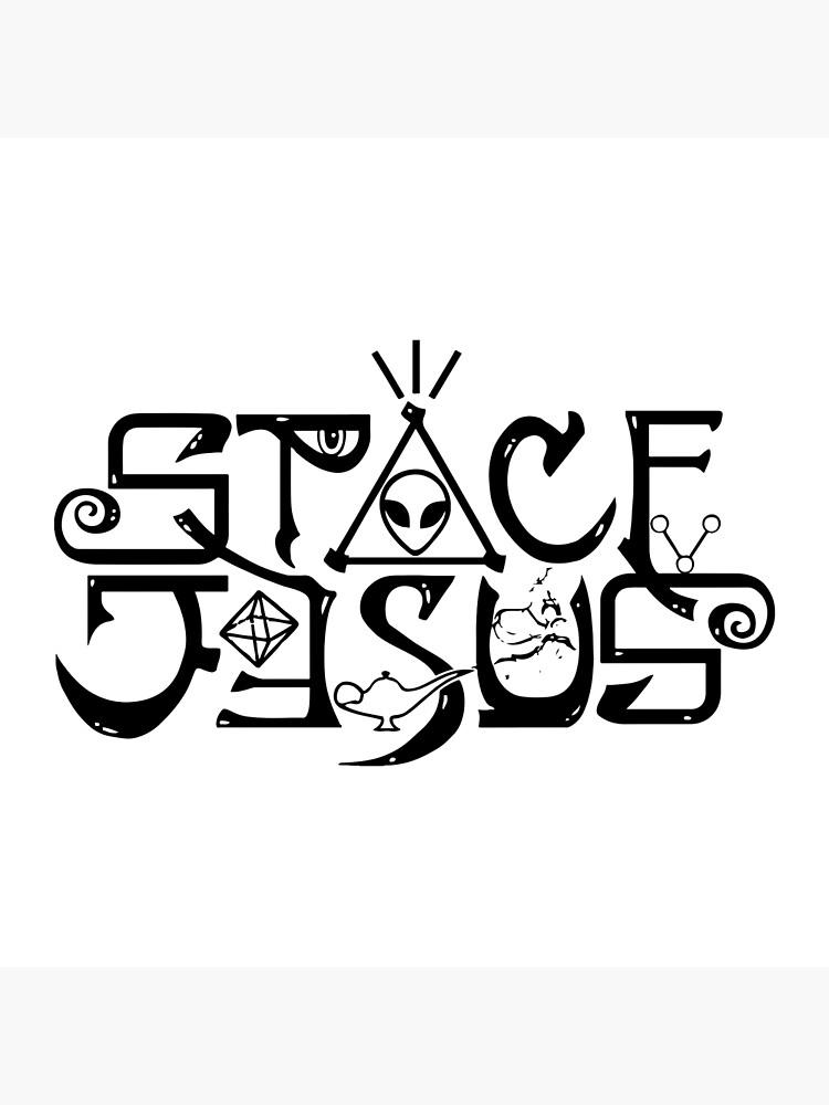 Space Jesus Logo.