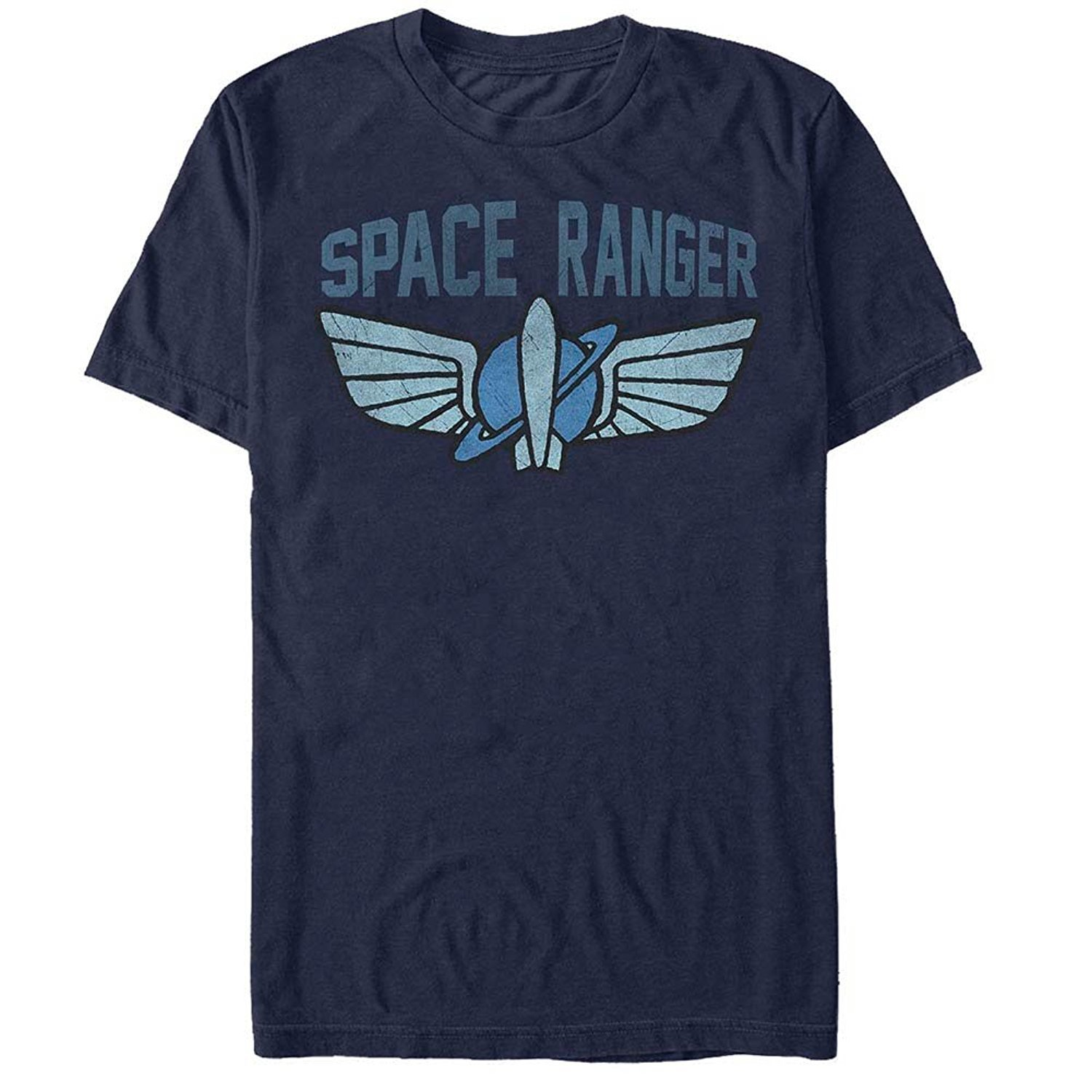 Toy Story Buzz Lightyear Space Ranger Logo Adult T.