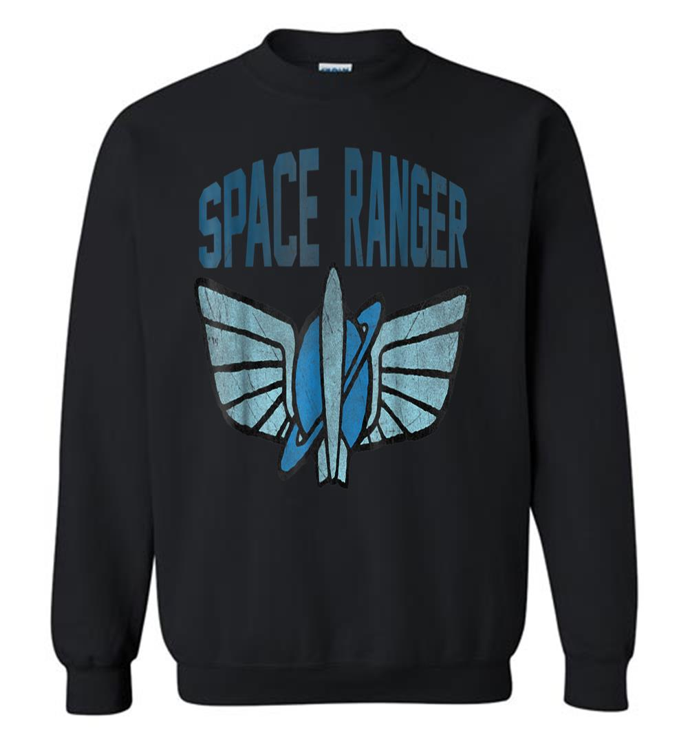 Disney Toy Story Buzz Space Ranger Star Command Logo Sweatshirt.