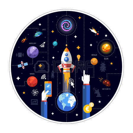65,675 Space Travel Cliparts, Stock Vector And Royalty Free Space.