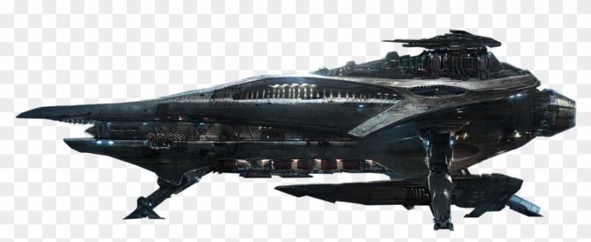 Alien Spacecraft Png Transparent Image.
