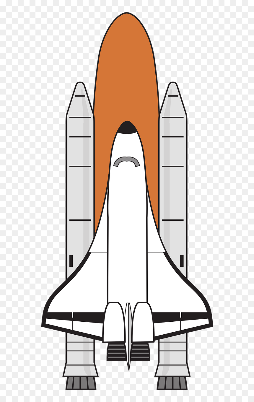 Space Shuttle Clip Art, HD Png Download.