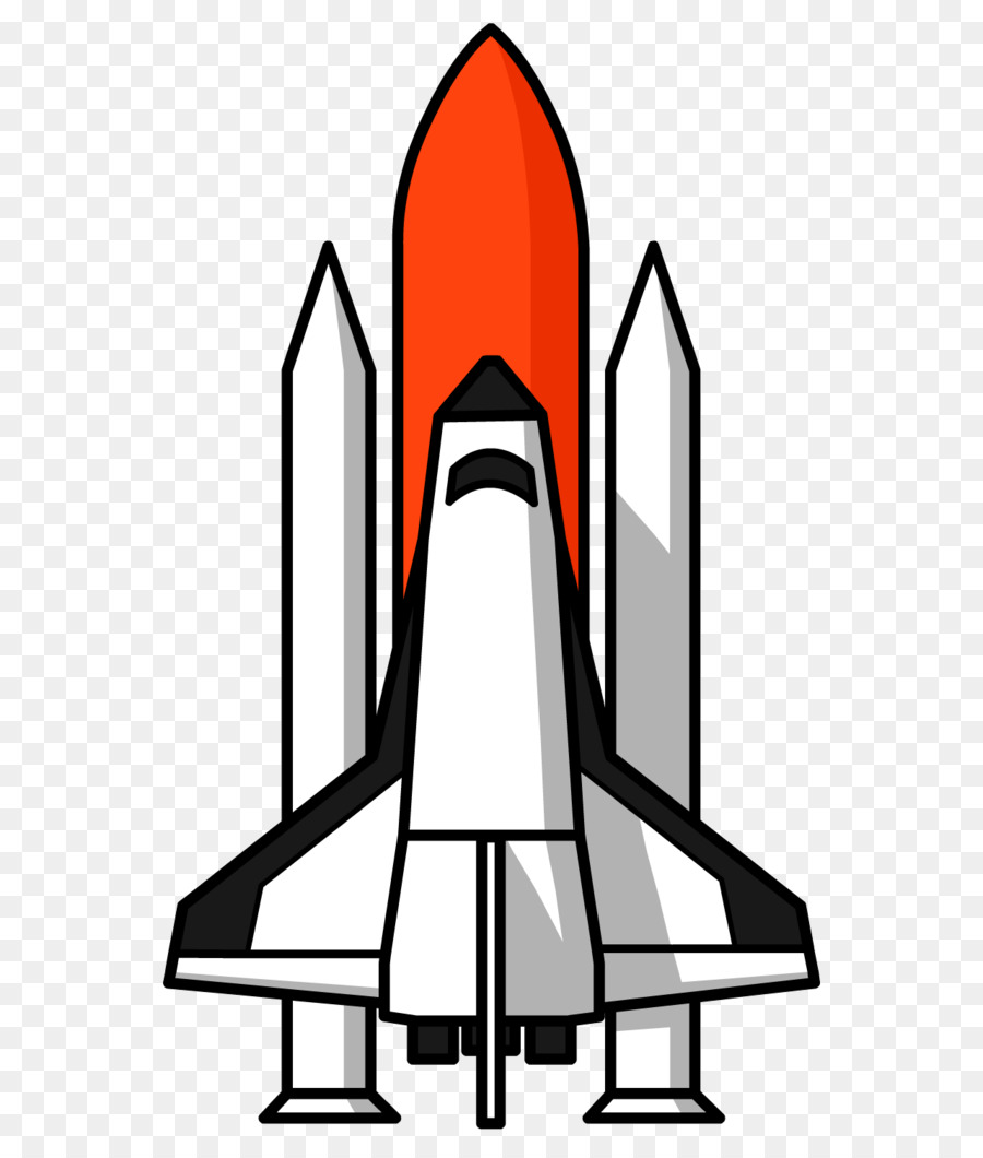 Space Shuttle Background clipart.