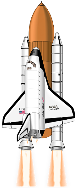 space shuttle clip art is.
