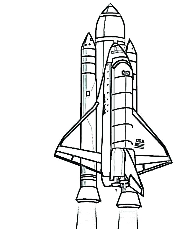 Collection of Space shuttle clipart.