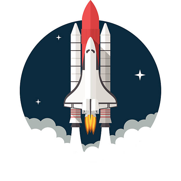272 Space Shuttle free clipart.