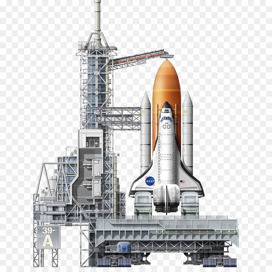 Space Shuttle Background png download.