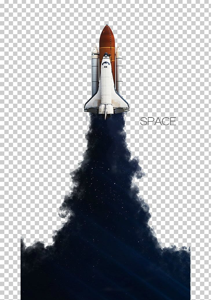 Space Shuttle Program Spacecraft Rocket Launch Outer Space.