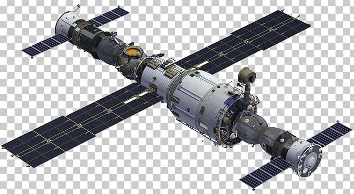 International Space Station Zvezda Mir Spacecraft Satellite.