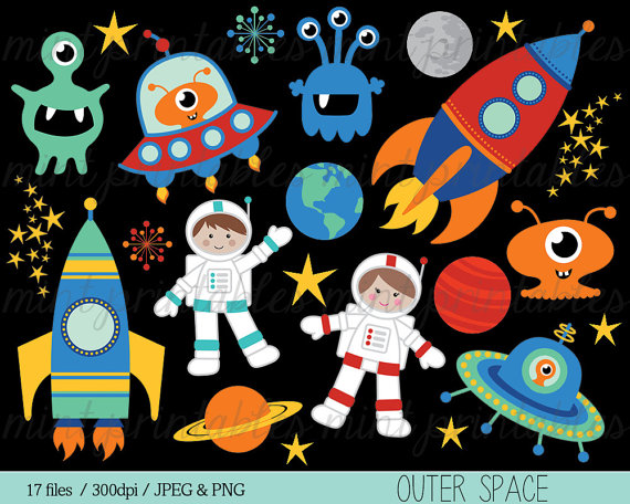 Rocketship clipart space themed, Rocketship space themed.