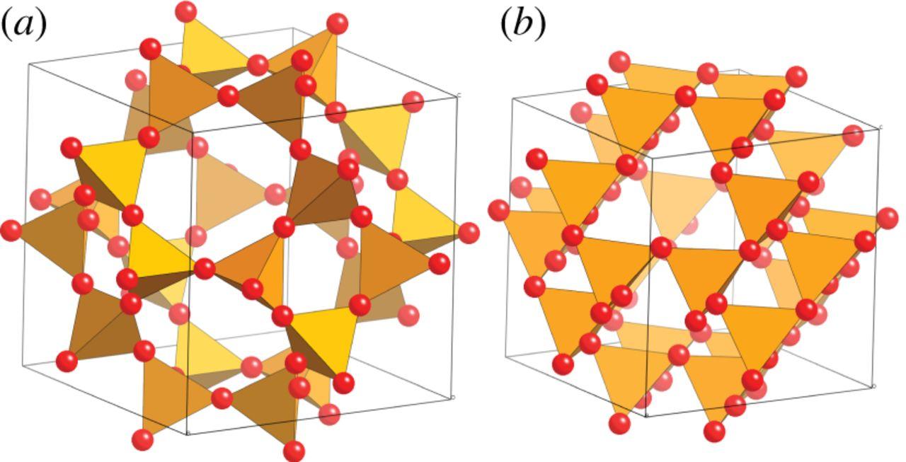 Flexibility mechanisms in ideal zeolite frameworks.