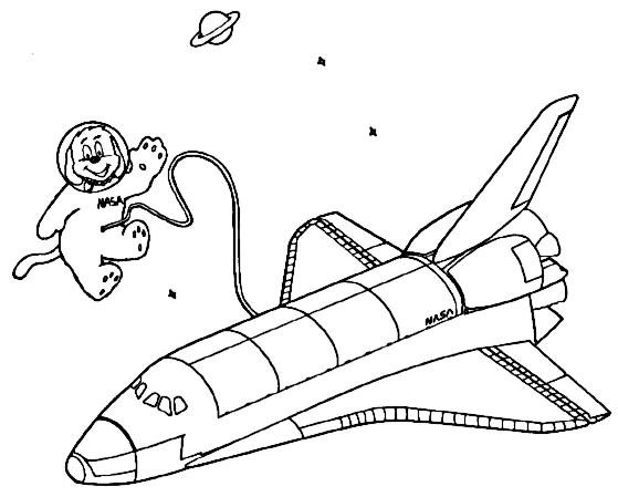 spacewalk dog shuttle.