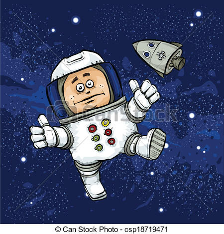 Space walk clipart - Clipground