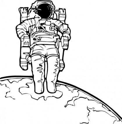 Spacewalk Clipart.
