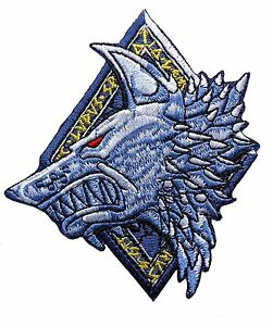 Details about Lone Wolf Space Wolves Marines IRON ON Patch.