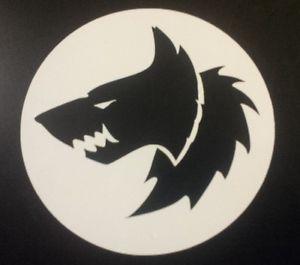 Details about Space wolf logo vinyl sticker.