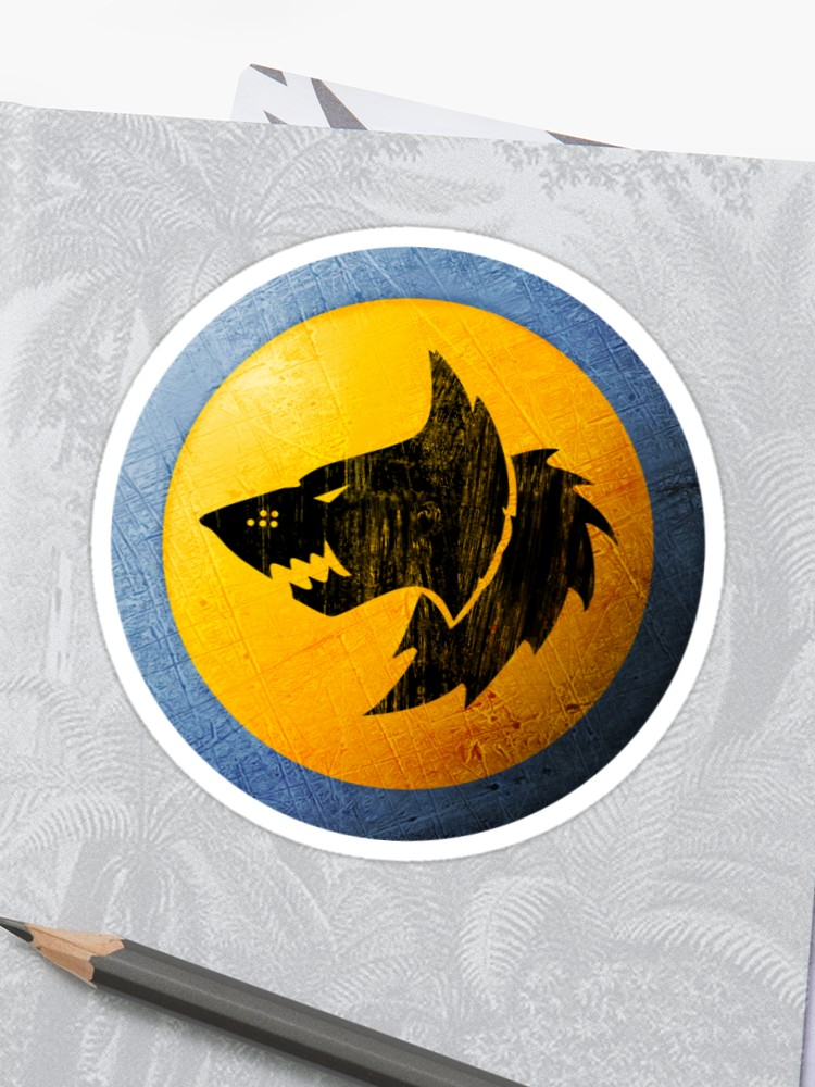 Space wolves Icon.