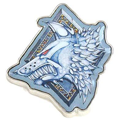 Pritties Accessories Genuine Warhammer Space Wolves Chapter Badge Pin Badge  Games Workshop.