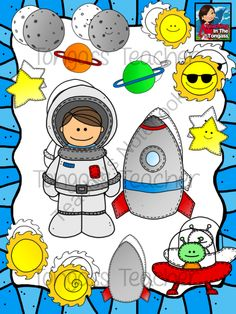 Spaced clipart.