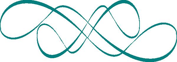 Swirl Design Teal Clip Art at Clker.com.