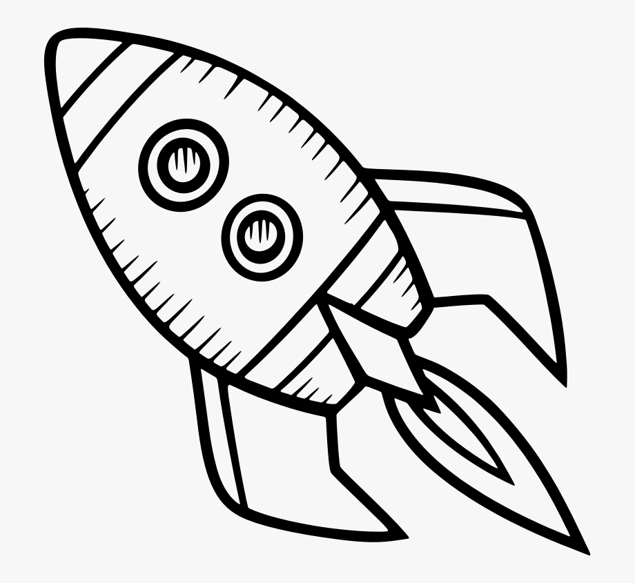 Spacecraft Drawing Rocket Clip Art For Liturgical Year.