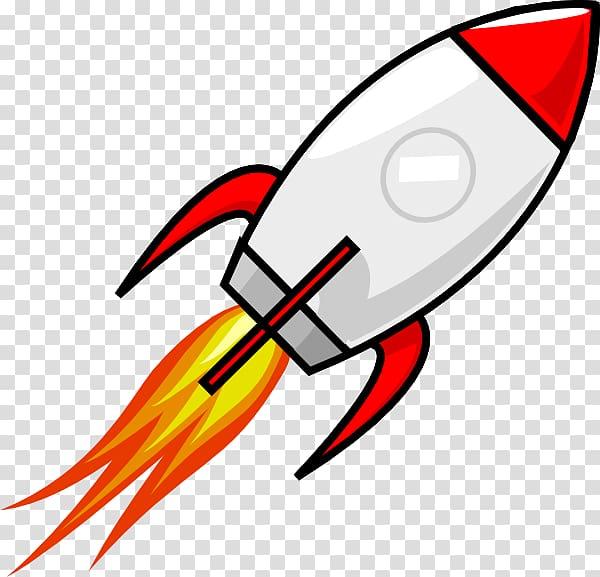 Rocket Spacecraft Cartoon , Cartoon Spaceship transparent.