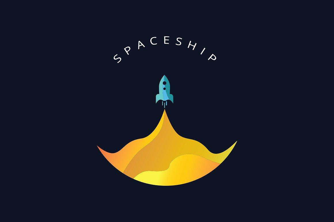 Spaceship Logos.