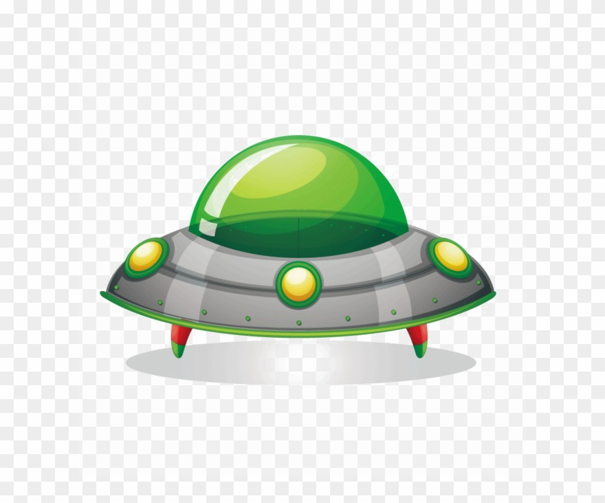 Ufo Spacecraft Png Image Background.