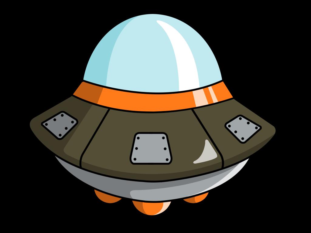 1101 Spaceship free clipart.