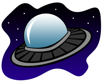 Alien Spaceship Clipart ★ cool images alien flying saucers.