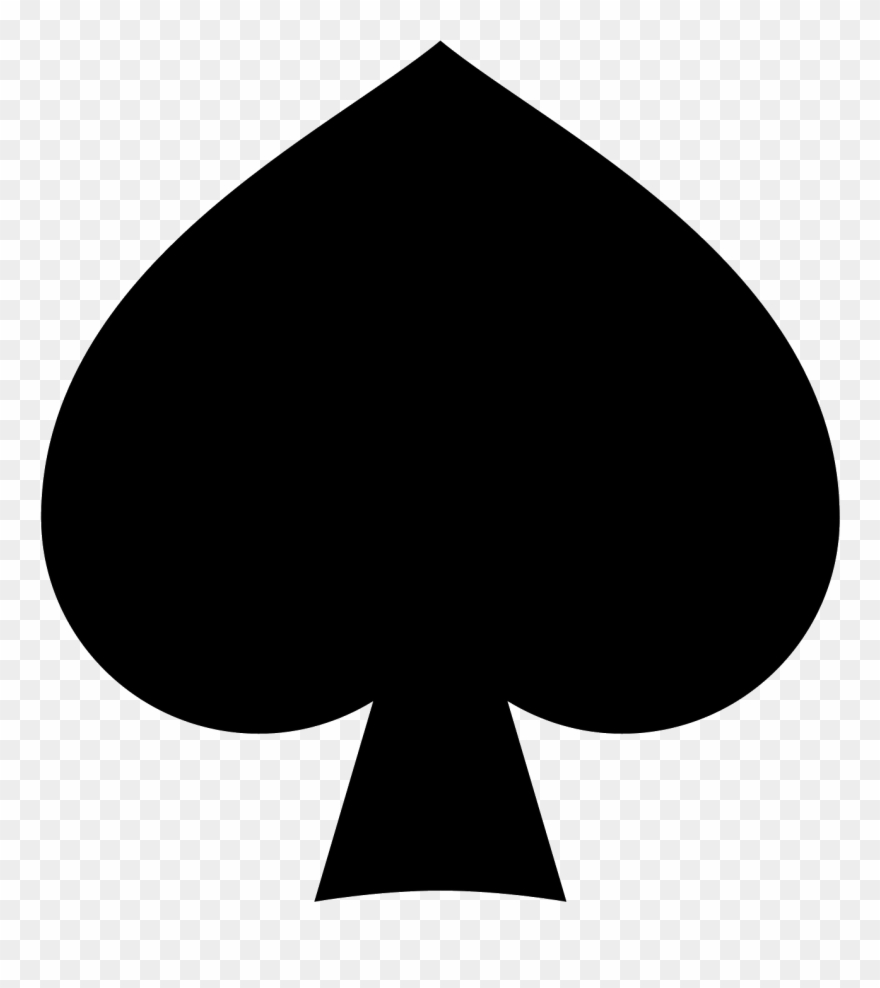 Spades Filled Icon.