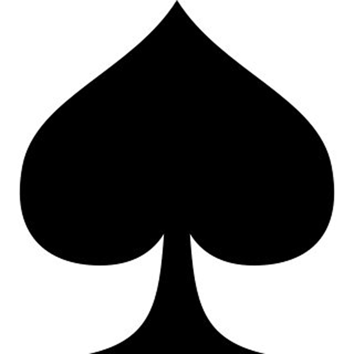 Similiar Spade Card Clip Art Keywords.