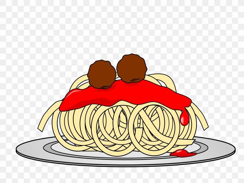 Spaghetti With Meatballs Submarine Sandwich Pasta Clip Art.